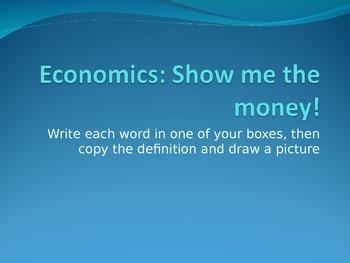 6th grade SS--economics