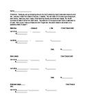 6th grade Shopping Activity (Tax, Tips, Discounts)