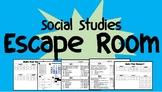 6th grade Social Studies Escape Room