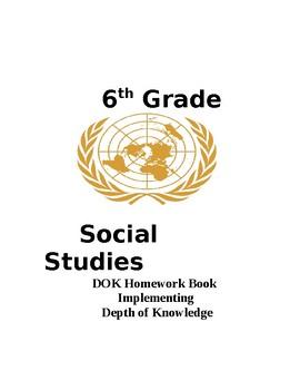 6th grade South Carolina Social Studies DSHW