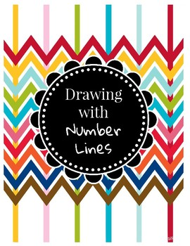 6th grade Vertical/Horizontal Number Lines with Art (6.NS.6)