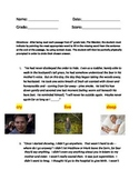 6th grade context clues assessment 5 questions