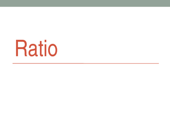 6th grade math 6RPA1: Write ratio