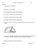 6th grade math/ Basic Math practice work
