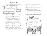 6th grade math midterm Christmas Review