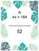 6th grade one step equations rational numbers no negatives