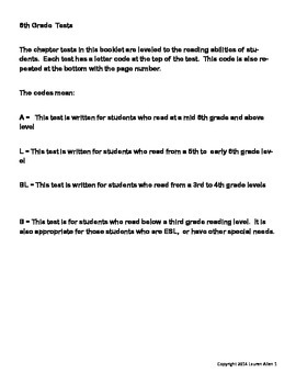 6th grade plate tectonics test- includes 4 differentiated tests