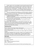 """6th grade """"proficient"""" Survival Article lesson plan"""