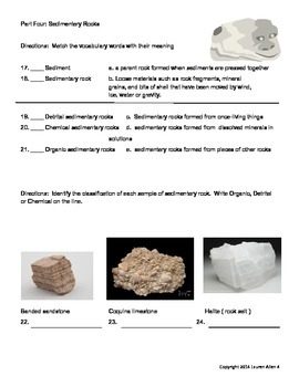 6th rock cycle final test- basic/esl reading level