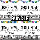 7-12 Choice Novel Workbooks BUNDLE!