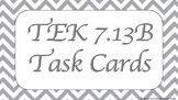 7.13B Task Cards for Personal BUDGET