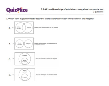 7.2.A Extend knowledge of sets/subsets us.. | 7th Grade Math TEKS | Print & Scan