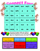 7.2a Rational numbers, sets and subsets partner game Connect Four