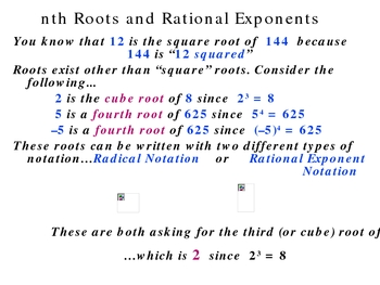 7-3 nth roots