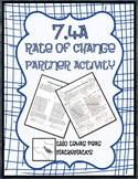 7.4A Rate of Change Partner Activity