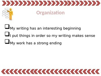 7 (6+1) Traits of Writing Display PPT