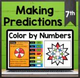 TEKS 7.6C ✩ 7.6D ✩ Making Predictions Using Probability ✩ Google Sheets Activity