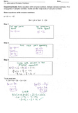 7.9 More About Complex Numbers