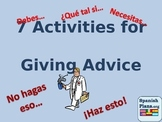 7 Activities for Giving Advice in Spanish