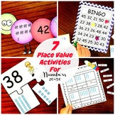 7 Activities to Help Learn Place Value of 1's and 10's.