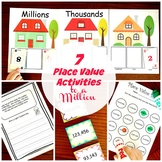 7 Activities to Teach Large Numbers (Place Value to the Millions)