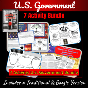 ~7 Activity~  U.S. Government Bundle