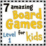 7 Amazing Board Games for Kids - Level 1