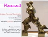 Art ELEMENTS PRINCIPLES - 161 Slides - Major Artists' Work = all Visual Examples
