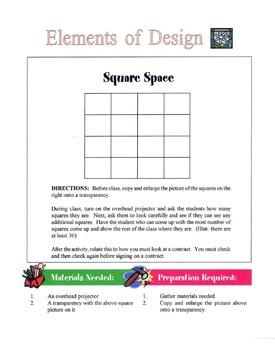 7 Basic Elements of Design Lesson