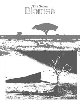 7 Biomes Worksheets