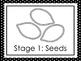 7 Black and White Pumpkin Life Cycle Printable Posters/Anchor Charts.