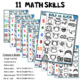 7 Build A Bunny Math and Literacy Game (from Roll Draw Write Full Year Bundle)