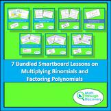 Algebra 1-Bundled Smartboard Lessons-Multiplying Binomials