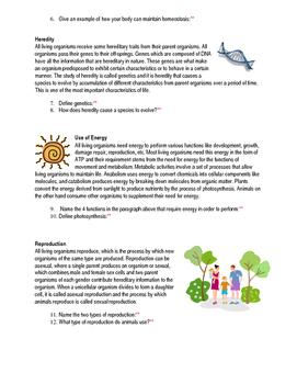 7 Characteristics of Life with KEY