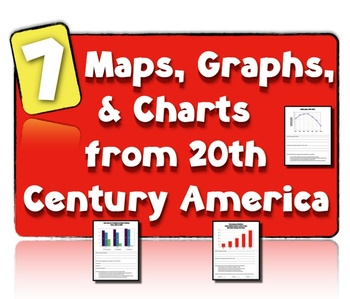 7 Charts, Maps, & Graphs from 20th Century America: Teachi
