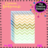 7 Chevron Background Digital Papers