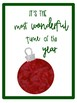 7 Christmas Song Lyric Posters -12 Days of Christmas Freebies - Day 8