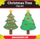 7 Christmas Tree Clipart