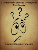 7 Commonly Confused Concepts in Psychology