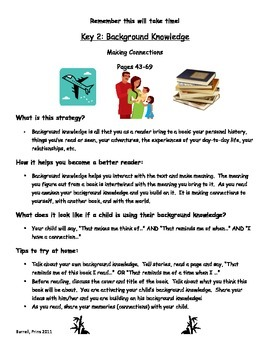 7 Comprehension Strategies Summaries