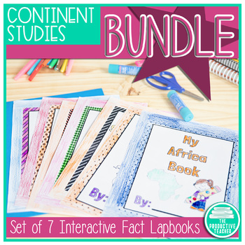 7 Continents Bundle Facts Lapbooks