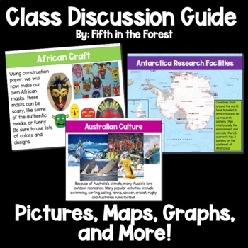 7 Continents Geography Unit Class Discussion Guide