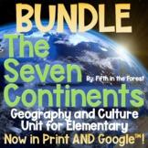 7 Continents Geography Unit SUPER BUNDLE
