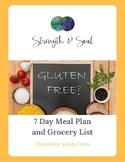 7 Day Gluten-Free Meal Plan & Grocery List eBook