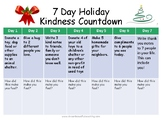 7 Day Holiday Kindness Countdown