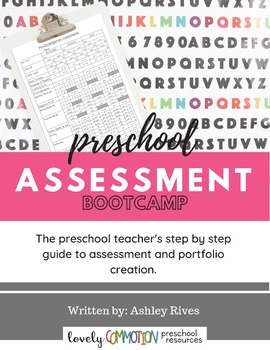 7 Day Preschool Assessment Bootcamp