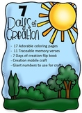 7 Days Of Creation - Crafts and Activities
