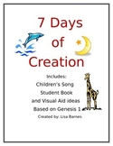 7 Days of Creation Song and Student Book