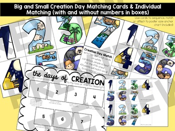 Days of Creation Bible Unit for ages 3-6