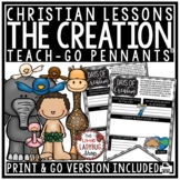 7 Days of Creation Bible Stories Lessons for Kids, Christian Religion Activities